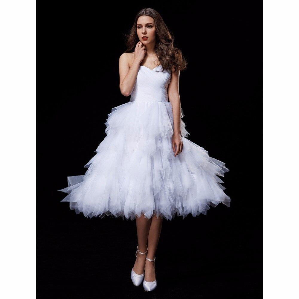 LAN TING BRIDE Ball Gown Wedding Dress Sweetheart Knee