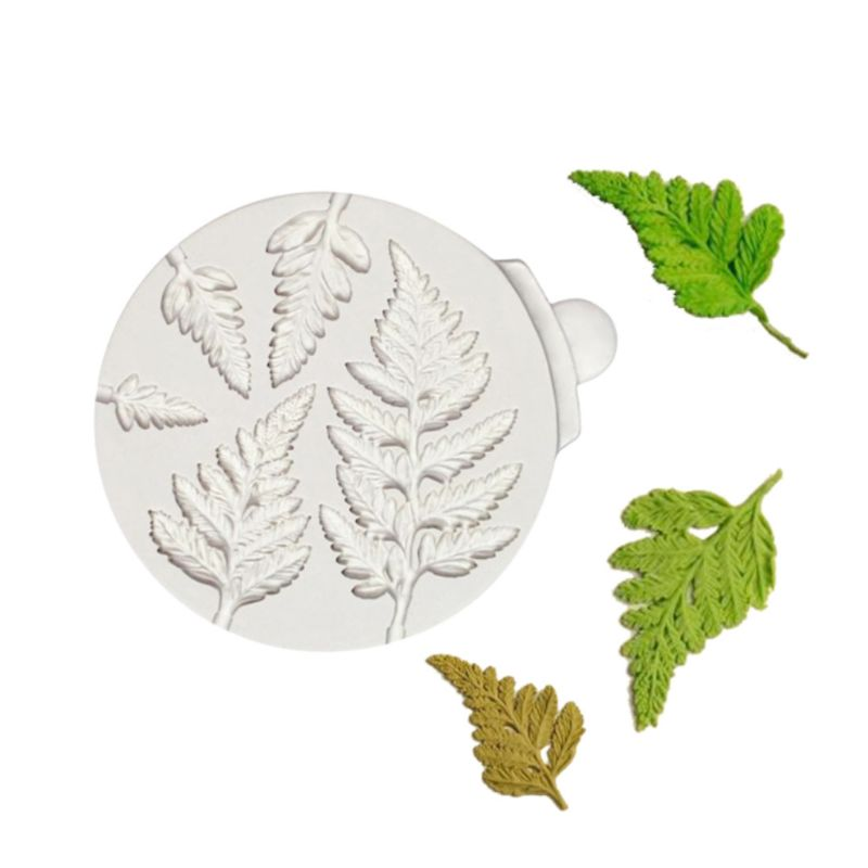 Kitchen,dining & Bar 3d Simulation Sensitive Plant Tree Leaf Silicone Fondant Chocolate Filler Mold Cake Soap Diy Handmade Biscuit Clay Mould Decor Fine Workmanship Cake Molds