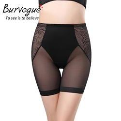 Burvogue Для женщин Управление Трусики для похудения прикладом формочек белье Body Shaper Хип Enhancer Shaper трусики
