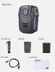Image 5 - BOBLOV PD50 מלא HD 1296P גוף מצלמה משטרת IR ראיית לילה מיני לנטנה policial וידאו מקליט Dvr WDR אבטחת כיס לנטנה