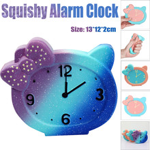 Compare prices on squishi clock online shoppingbuy low price ship from us squeeze alarm clock squishy slow rising decompression toys easter gift phone strap kids fun novelty toy gift anti stress adult negle