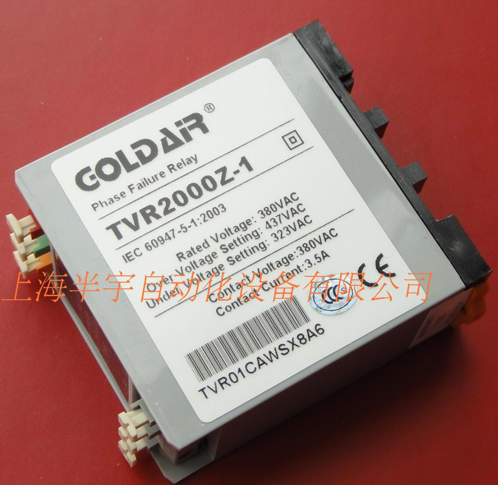 цена на new original TVR2000Z-1 phase sequence relay GOLDAiR break phase protection Over-voltage protection