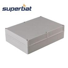 Superbat Big 9.45″*6.89″*2.68″( L*W*H) Extruded Waterproof Plastic Electronic Project Box Enclosure Case DIY – 240*175*68mm