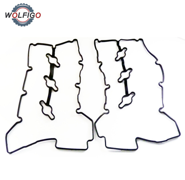Wolfigo 2pcs Engine Valve Cover Gasket Left Right 22453 3c110