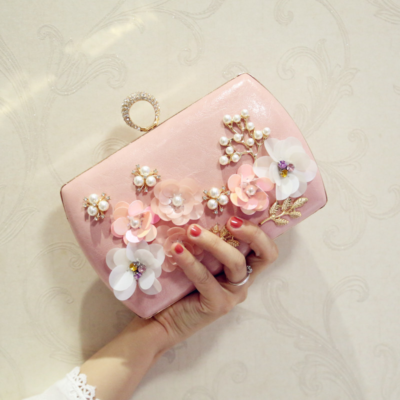 2018 Sweet Girl Square Bag Flower Chain Shoulder Messenger Bag,New Style Luxury Portable Single Shoulder Oblique Cross Bag цена и фото