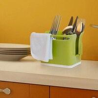 Di alta qualità posate scatola di immagazzinaggio titolare spugna scaffale scolapiatti Spazzola panno rack di stoccaggio, accessori per la cucina. Spedizione gratuita.