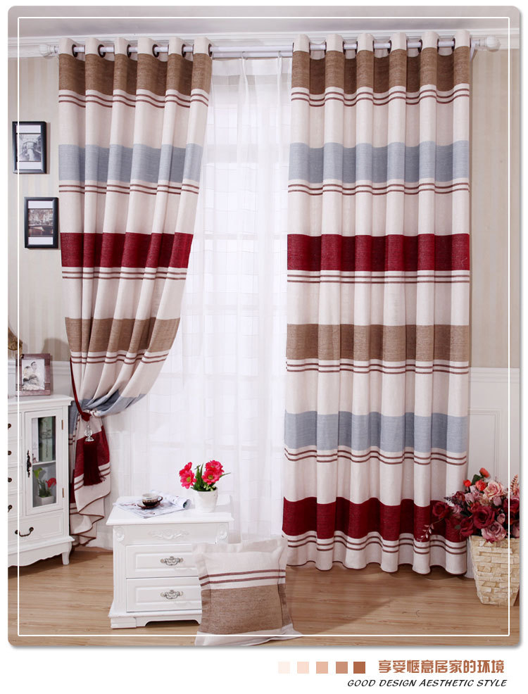 [Fun] high-grade silver leaf language chenille jacquard curtain European minimalist modern living room