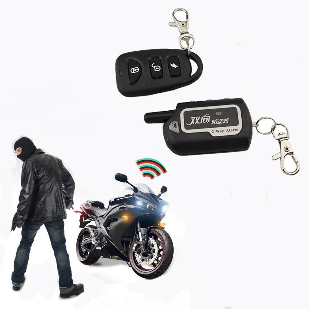 Противоугонная сигнализация для мотоцикла с дистанционным запуском двигателя, двусторонняя охранная сигнализация для скутера, защита от к...