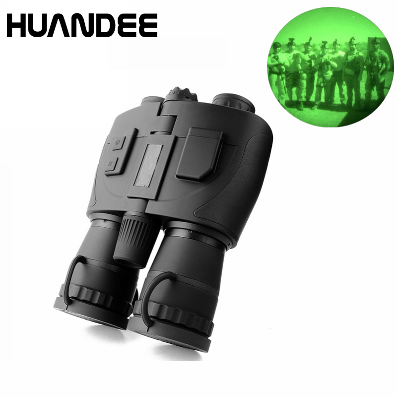 цена на Super Generation 1+ Full darkness 5X50 Night Scout Infrared Night Vision Binoculars Telescope HNV022