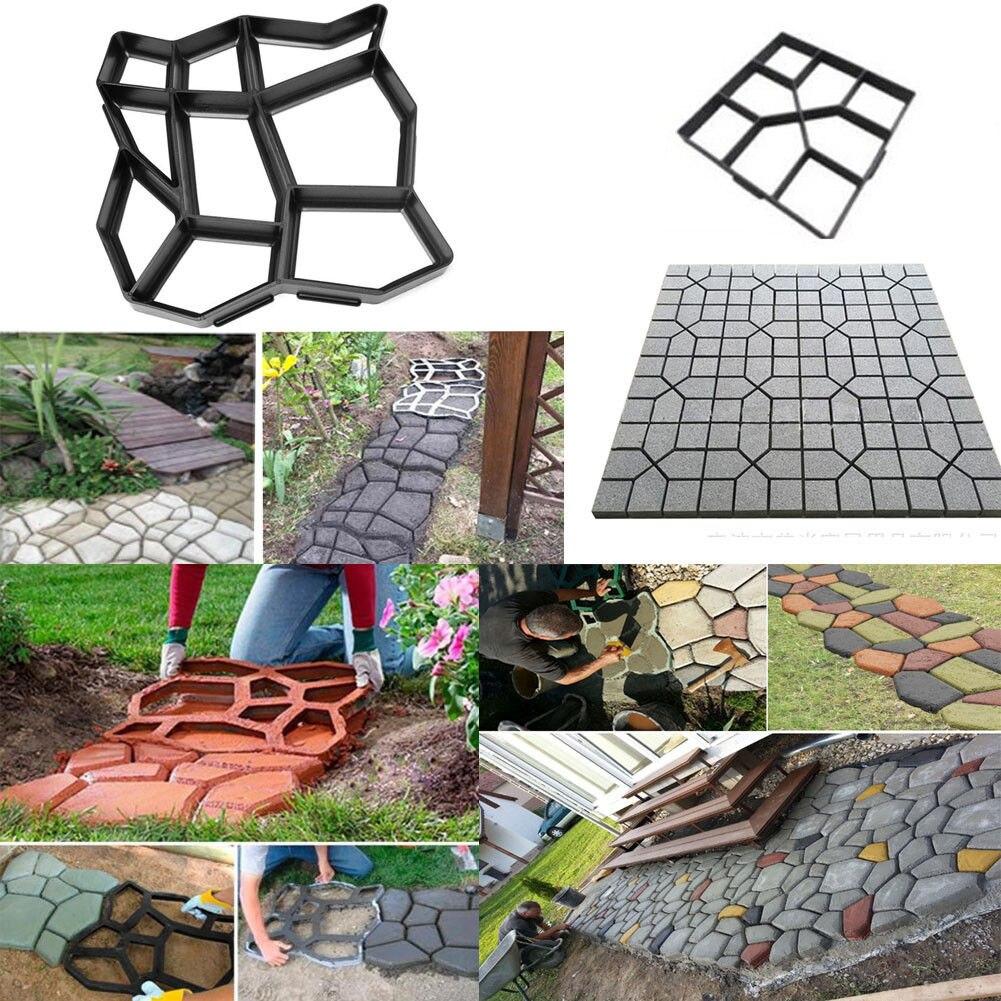 Mattoni Per Vialetti Giardino.Comprare Stampo Pavimentazione Di Pietra Vialetto Cellulare