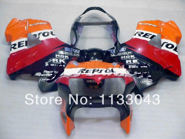 Orange Repsol For Honda Vfr800 98 01 Vfr 800 Vfr800rr Vfr 800rr 1998 1999 2000 2001 98 99 00 01