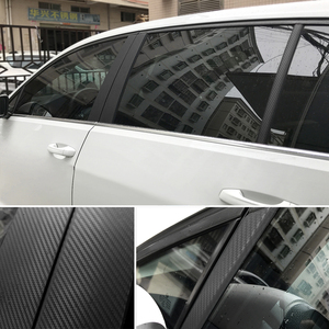 Image 3 - 3D Carbon Fiber Vinyl Car Wrap Sheet Roll Film Car stickers and Decals Motorcycle Car Styling Accessories Automobiles