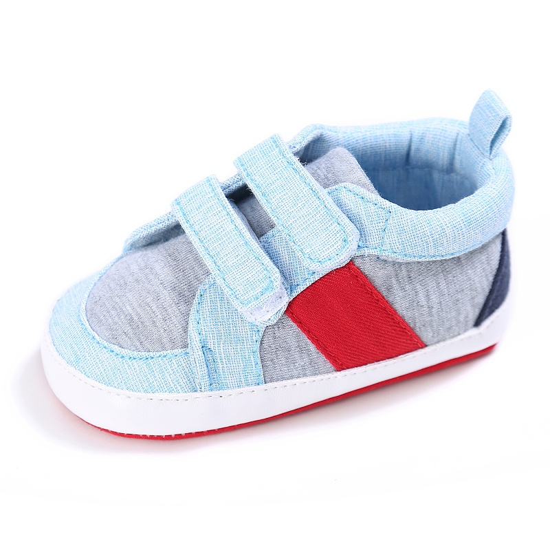 Spring Kid Boys Casual Patchwork First Walkers Soft Bottom Non-slip Baby Cack Shoes First Walkers