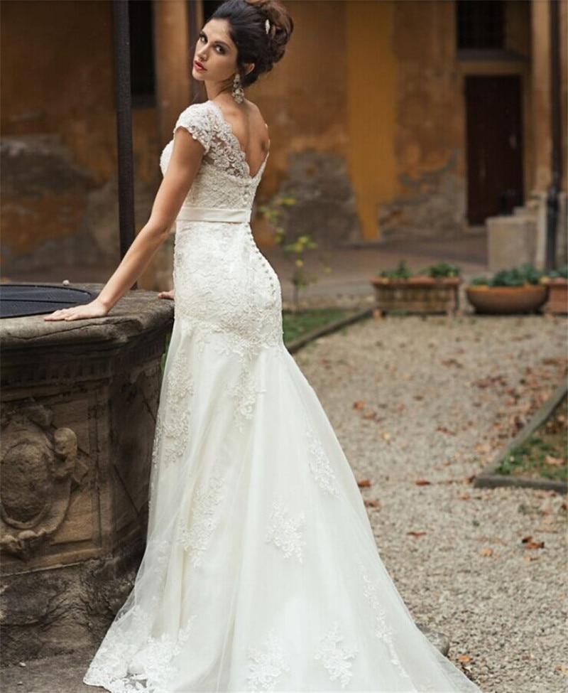 Vestido de novia boda vintage