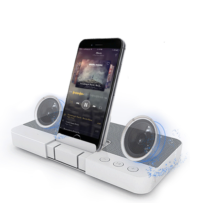 SENBOWE Home Theater Bluetooth Speaker 3D Stereo Surround Wireless Speaker with Phone Holder MP3 Player for Iphone Android lnmbbs tablet 10 1 android 5 1 tablets with cases 1280 800 pixel wifi 802 11 b g wifi 3g wcdma 2100 mhz 1gb ram 16gb rom 8 core