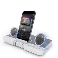 SENBOWE Home Theater Surround Głośnik Bezprzewodowy Bluetooth Głośnik Stereo 3D z Uchwytem Na Telefon MP3 Player dla Iphone Android