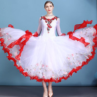 standard ballroom dress ballroom dance competition dresses waltz dress flamenco standard dance dresses