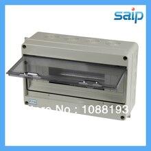 Free Shipping 15 Ways Surface Mounting Waterproof Box ABS Plastic Distribution Box IP65 300*190*105mm