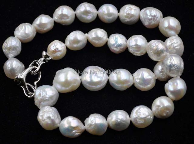 Lustre 11-14mm real Kasumi collar de perlas cultivadas envío gratis