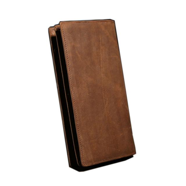 Vintage Genuine Leather Men Wallet