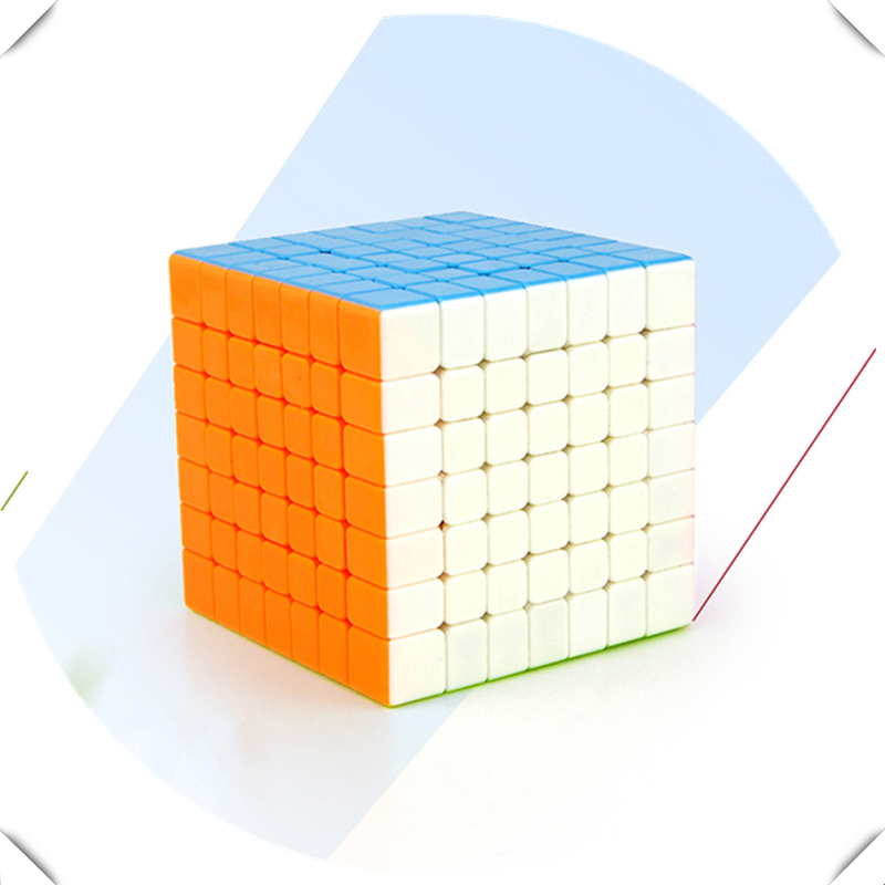 3 Style 7x7x7 Magic Cubes Racing Game Cube Children Puzzle Toys Competition Training for Kids Adults Gift