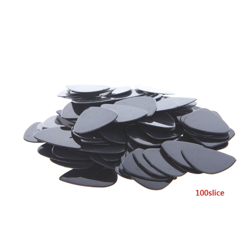 100 pcs/Lot 0.71mm Acoustic Electric Guitar Picks Plectrums Musical Instrument image
