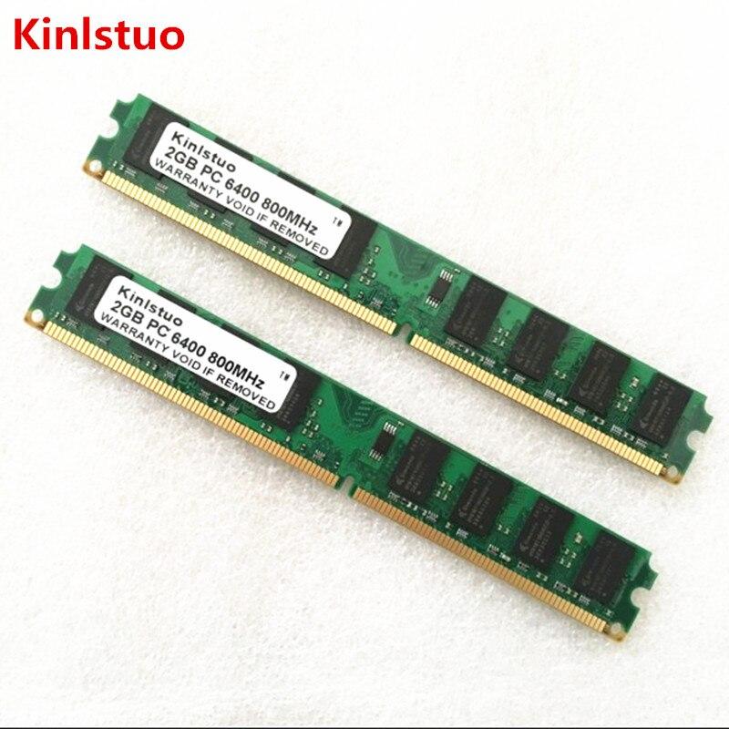 Память Kinlstuo DDR2, 1 ГБ, 2 ГБ, 4 Гб, 800 МГц, 667 МГц, для настольных ПК, ОЗУ (INTEL и AMD), система, высокая совместимость|ddr2 1gb|4gb 800mhz4gb ddr2 memory | АлиЭкспресс