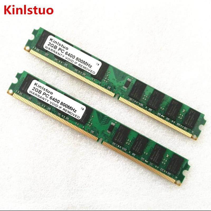 Kinlstuo ddr2 1 gb 2 gb 4 gb 800 mhz 667 mhz memória para desktop ram (intel & amd) sistema de alta compatível|ddr2 1gb|4gb 800mhz4gb ddr2 memory - AliExpress