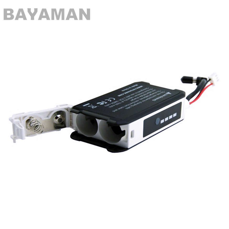 1pc FatShark FSV1814 18650 Li-Ion Cell Goggle Headset Battery Case can provide 7.4V nominal voltage for FPV fly (no battery) цена