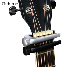Rahano Universal Guitar Capo Adjusting For Electric Acoustic Classical Guitar Ukulele Quick Change Clamp Trigger