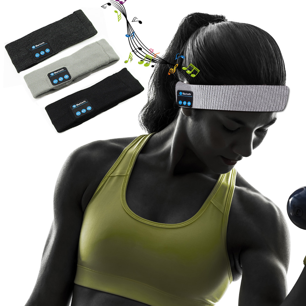Draadloze bluetooth hoofdtelefoon sport smart cap headset handsfree - Draagbare audio en video - Foto 3