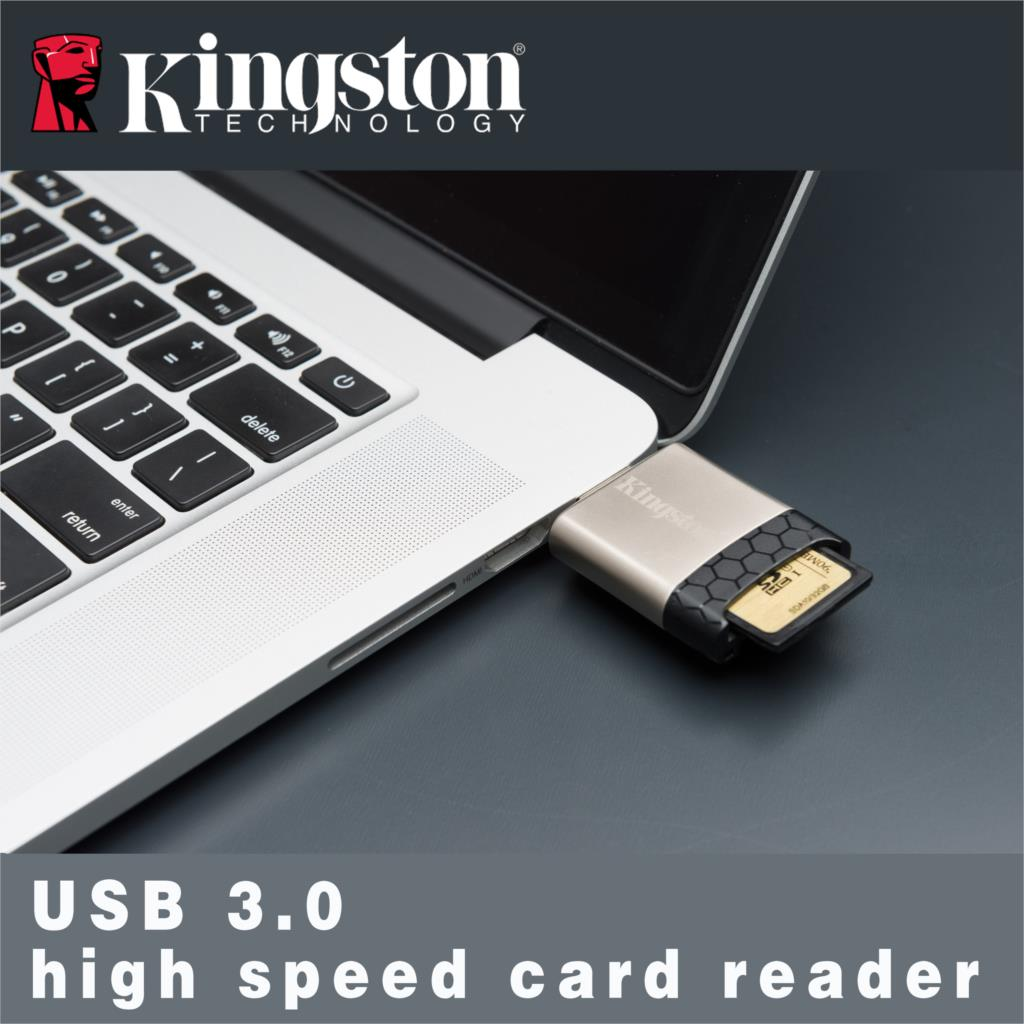 Kingston MicroSD USB 3.0 UHS-I & UHS-II card reader ALL IN 1 external disk micro card for TF SDHC/SDXC laptops