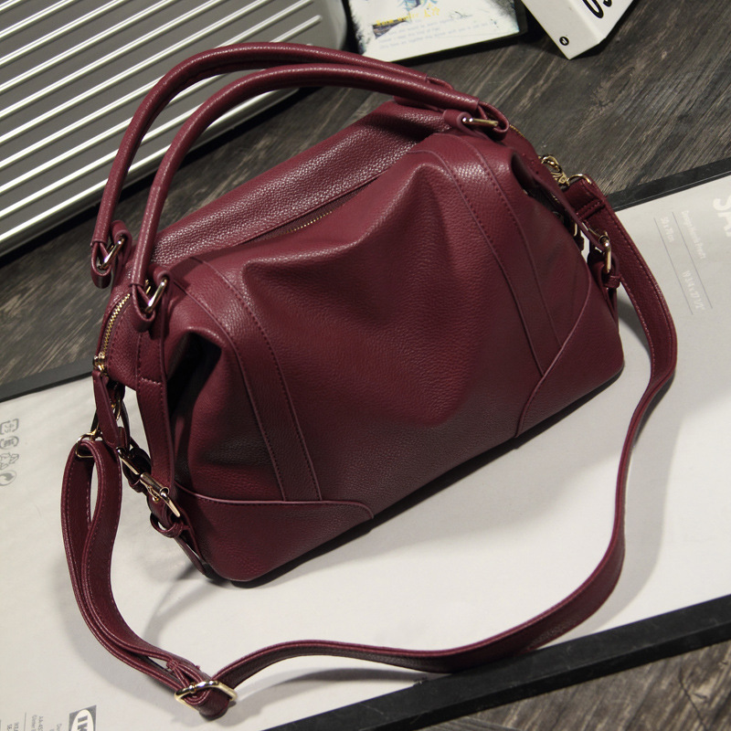 2019 Hot sale fashion luxury large capacity casual Leather handbags women