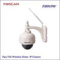 Foscam FI8919W Wireless Outdoor IP Camera Pan Tilt Night Vision Na Webcam Impermeavel Excelente IP Camera