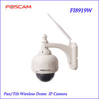 Foscam FI8919W Wireless Outdoor IP Camera Pan Tilt Night Vision Na Webcam Impermeavel Excelente IP Camera