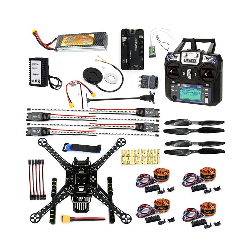 DIY FPV Drohne W / FS-I6 TX RX S600 4 Achsen Quadcopter APM 2.8 - Spielzeug für die Fernbedienung - Foto 1