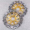 Rotores de Disco de freio Para A Kawasaki ZRX ZXR 400 750 ZX9R 1100 1200 ZZR1100 Substituição Da Motocicleta peças de reposição Acessórios