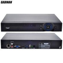 GADINAN ONVIF CCTV NVR 16CH 1080 P NVR/4CH 5 M Réseau Vidéo enregistreur H.264 HDMI pour 960 P 1080 P 5MP Caméra IP XMEYE P2P nuage