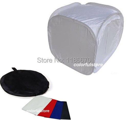60 x 60 x 60 cm 24  Collapsible Photo Photography Studio Light Lighting Tent Soft Box Softbox for DSLR Camera Film + 4 Backdrops-in Photo Studio Accessories ...  sc 1 st  AliExpress.com & 60 x 60 x 60 cm 24