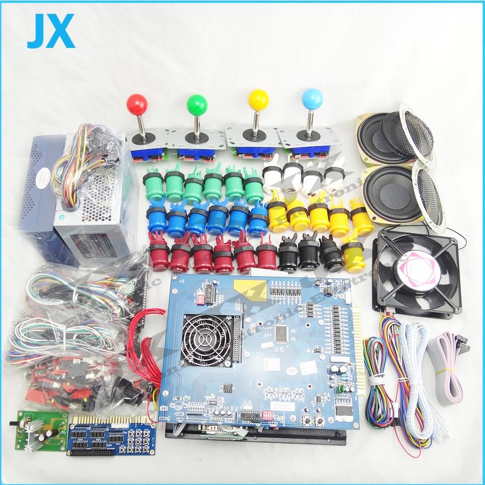 DIY Arcade parts Bundles kit With Joystick Pushbutton