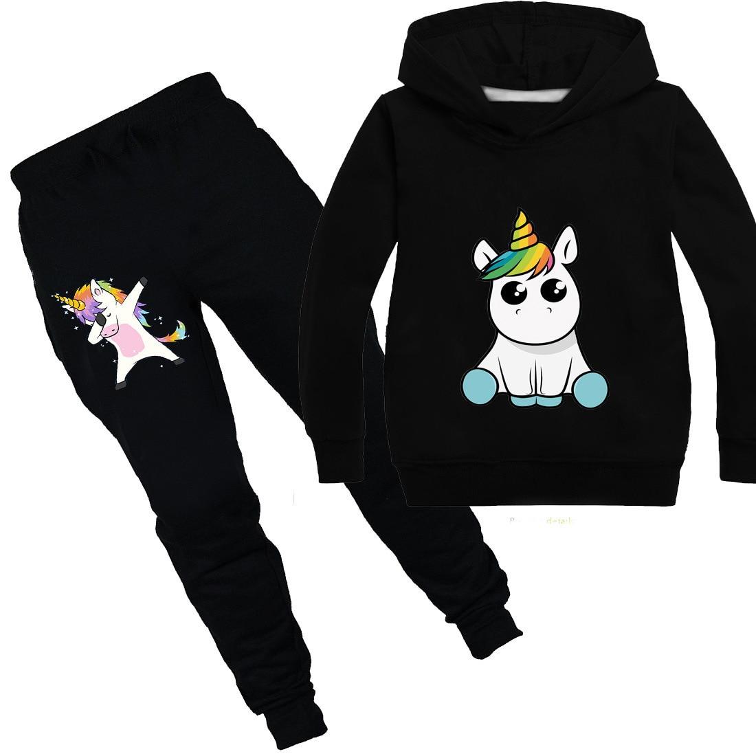 Unicornio sudaderas niños sudaderas moda niños camiseta con capucha bebé niño niñas abrigo niños ropa niños camisetas casuales ropa deportiva