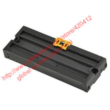 DM50 PCB size: L:59mm W:50mm DIN Rail mount Terminal Enclosure profile panel mounting base PCB holder PCB carrier(China (Mainland))
