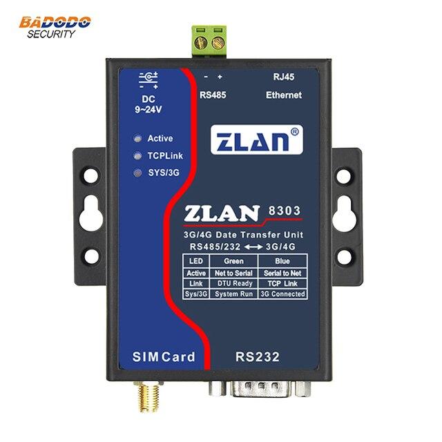 US $138 88 |ZLAN8303 7 GSM 3G 4G serial port RS232 RS485 to TD LTE/FDD  LTE/WCDMA/TD SCDMA/EVDO/CDMA2000/GSM converter 3G/4G data transfer-in  Building