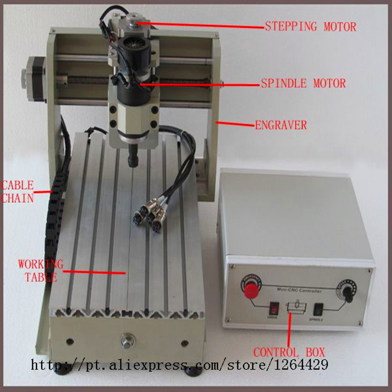MINI CNC desktop CNC engraving machine 3020T small crafts processing relief carving lettering machine 200 DC motor cnc 3020 mini desktop engraving machine 2030 drilling