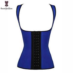 Image 4 - Latex Vest Taille Trainer Staal Bone Babaka Waisttrainer Plus Size Taille Cincher Underbust Push Up Vrouwen Dagelijkse Slijtage Taille Trimmer