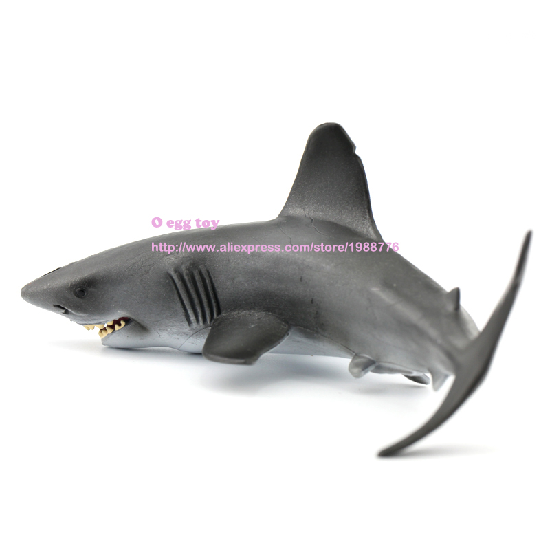 2 0cmShark Jaws whale figures  Mosasaurus Leopard Smilodon  Classic Toy Ferocious Beast Animal Model polar marine animal model toy penguin reindeer polar bear blue whale walrus sea l toy model sets pvc figure