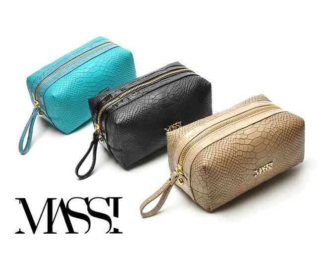 Free Shipping! fashion serpentine pattern women's clutch elegant handle bag wrist bag cosmetic bag F622