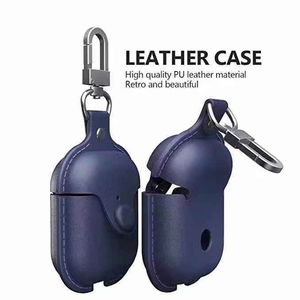 Image 3 - Business Cover For Apple Airpods 2 Case For iPhone AirPods Accessories Wireless Bluetooth Earphone Cover PU Leather Storage Bag