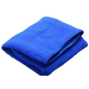 Image 1 - 1 шт. новые синие чистящие салфетки из микрофибры для сушки Авто по уходу за автомобилем с подробным описанием мягкие ткани мытья Полотенца Duster 30*70 см