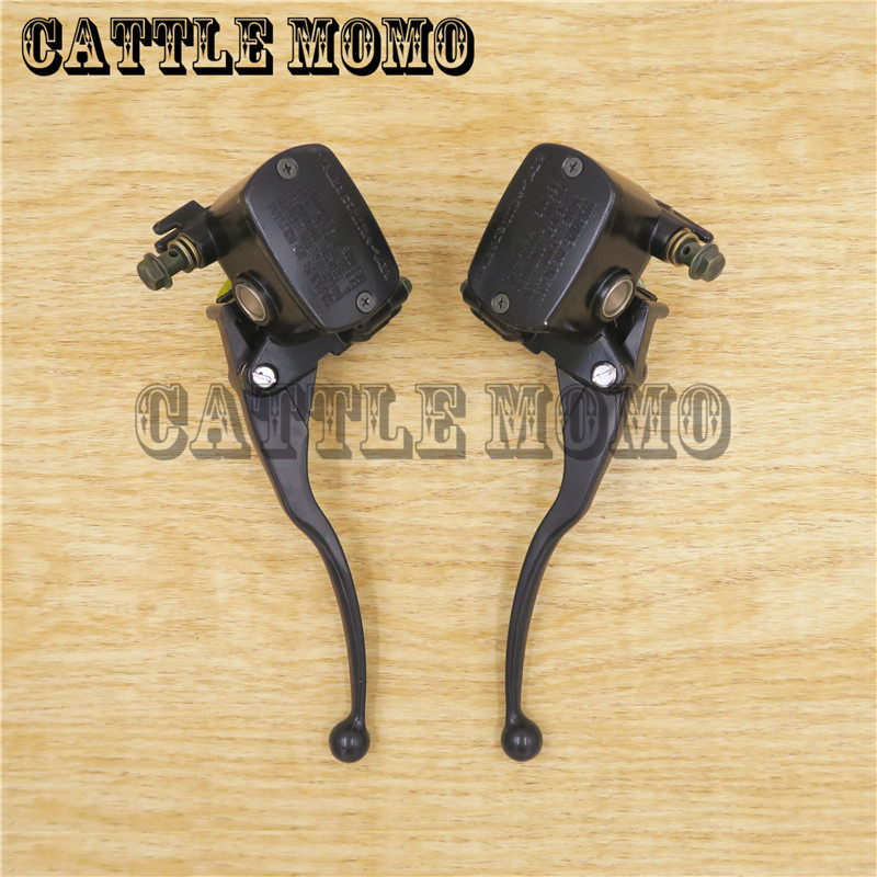 Free shipping black Motorcycle Clutch&Brake pump Master Cylinder Levers For Yamaha XP500 T-MAX500 TMAX 500 2001-2009 year